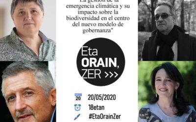 La gestión de la emergencia climática y su impacto sobre la biodiversidad, en el centro del nuevo modelo de gobernanza