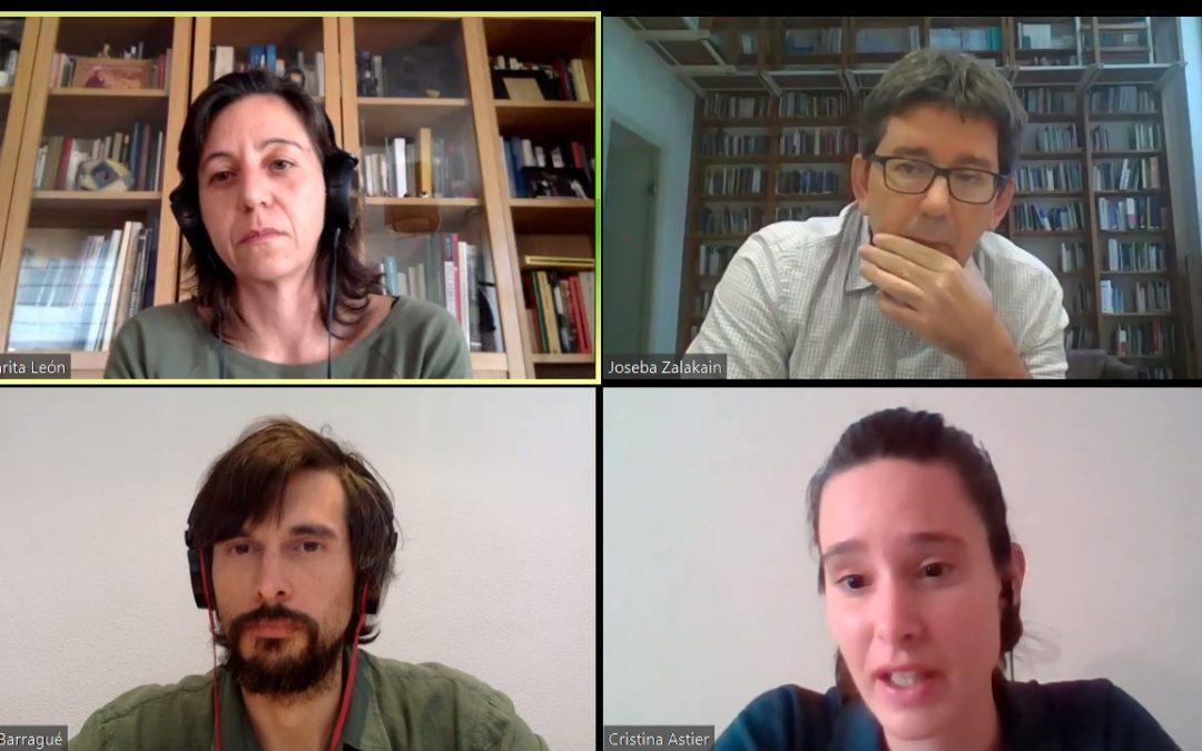 ponentes sesión 3